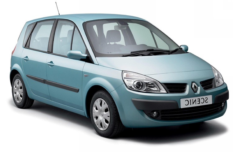 Solfilm till Renault Scenic. Färdigskuren solfilm till alla Renault bilar från EVOFILM®.