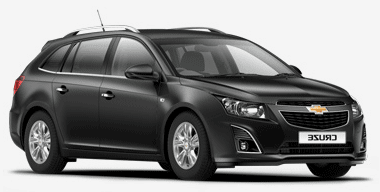 Solfilm till Chevrolet Cruze kombi. Solfilm till alla Chevrolet bilar från EVOFILM®.