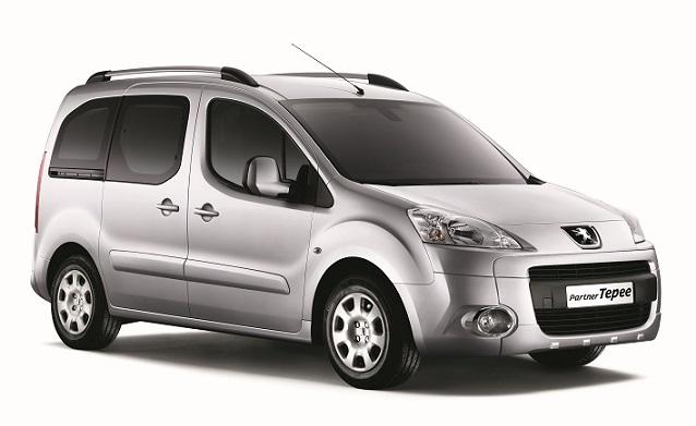 Solfilm till Peugeot Partner.
