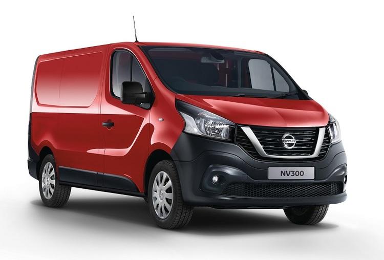 Solfilm till Nissan NV300 Van.