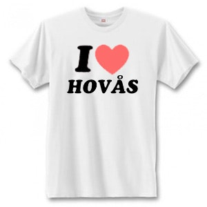 "T-Shirt - ""I Love Hovås"""