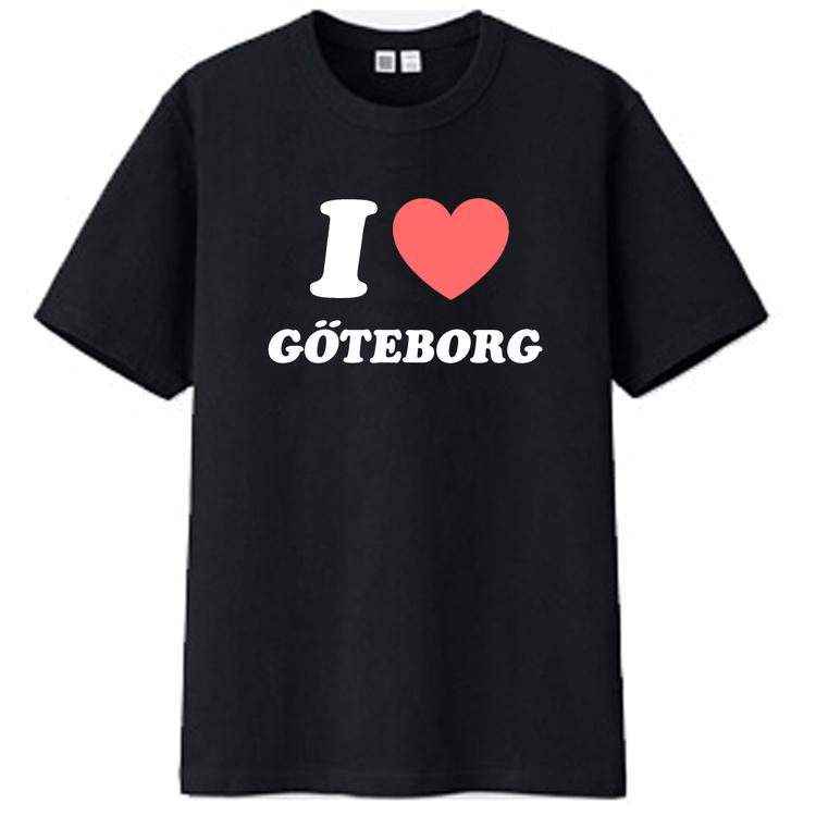 """T-Shirt - """"I Love Göteborg"""""""
