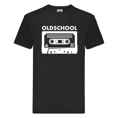 "T-Shirt - ""Oldschool"""