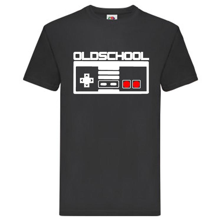 "T-Shirt - ""Oldschool"", Spelkontroll"