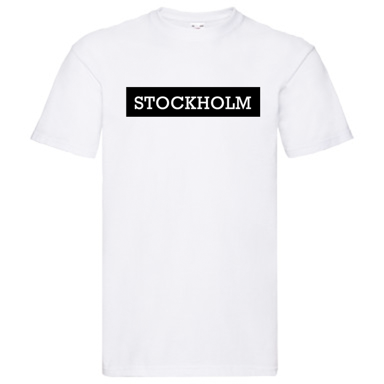 T-Shirt - STOCKHOLM, SvenskaStäder