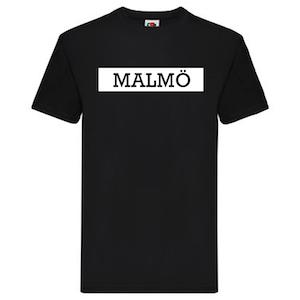 T-Shirt - MALMÖ, SvenskaStäder