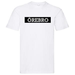 T-Shirt - ÖREBRO, SvenskaStäder