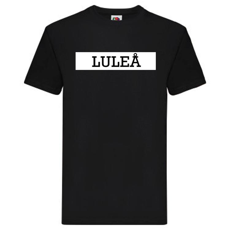 T-Shirt - LULEÅ, SvenskaStäder