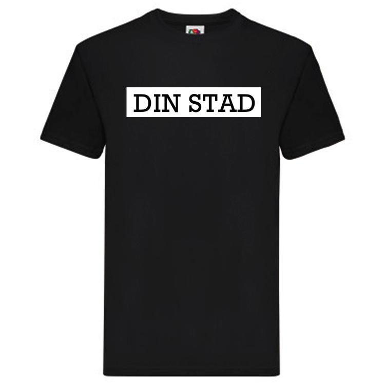T-Shirt - DIN STAD, SvenskaStäder