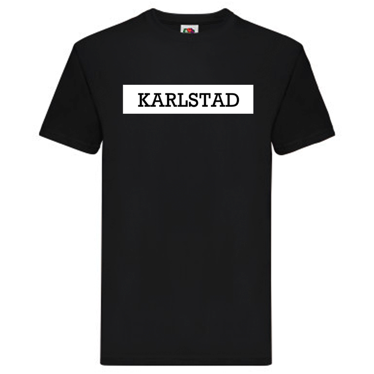 T-Shirt - Karlstad, SvenskaStäder