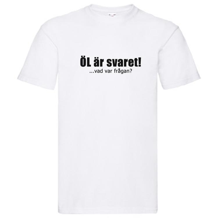 T-Shirt - ÖL är svaret