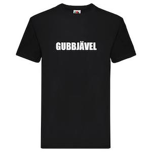 T-Shirt - GUBBJÄVEL