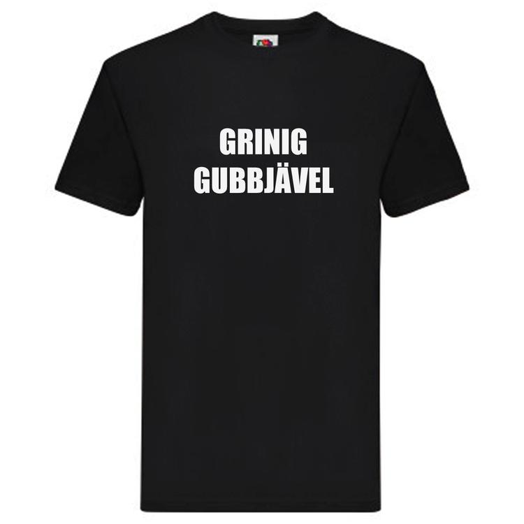 T-Shirt - GRINIG GUBBJÄVEL