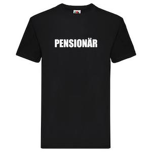 T-Shirt - Pensionär