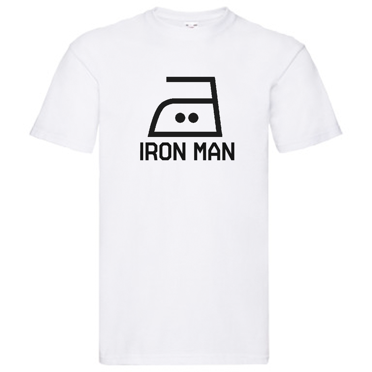 T-Shirt - IRON MAN, strykjärn