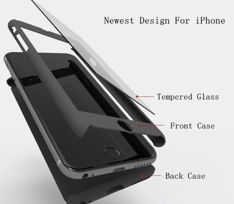 360 Skal till iPhone 5 , 5s ,iPhone se,, Skydd för hela din iPhone TRYstore24