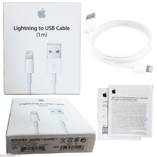 3 Pack Lightning kabel 1 IPhoneiPad 1meter förpackning TRYstore24