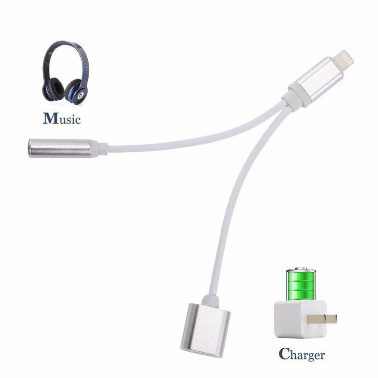 IPhone 78X adapter Lyssna på musik & ladda samtidigt