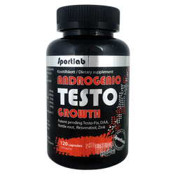 Sportlab - Testo Growth, 120 Kapslar