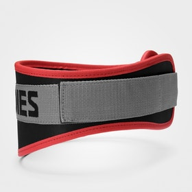 Basic Gym Belt, Black/Red