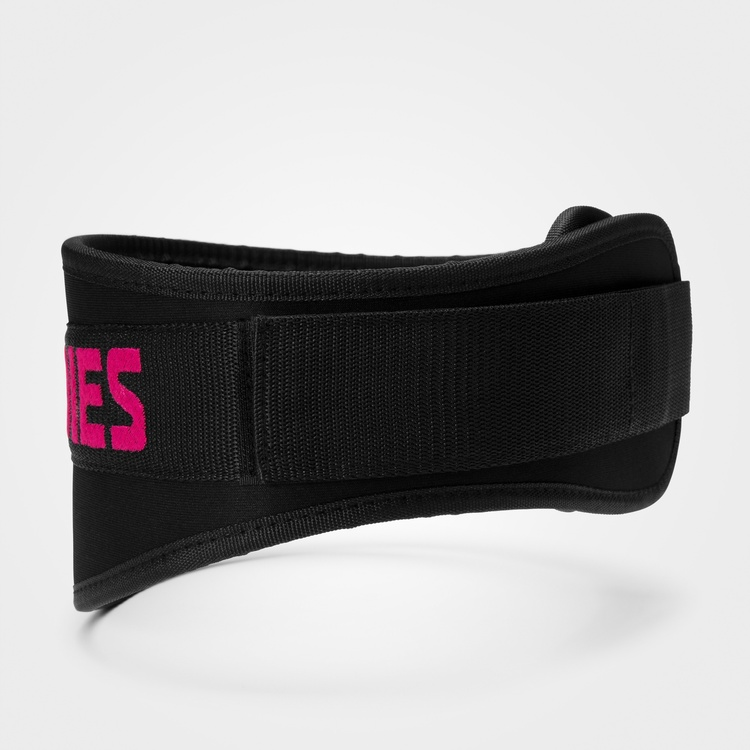 Kopi Womens gym belt, Black/pink