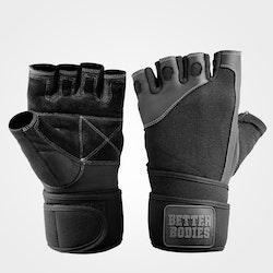Pro Wristwrap Gloves, Black