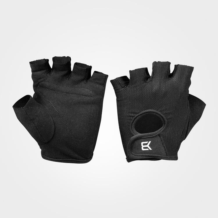 Womens train gloves, Black