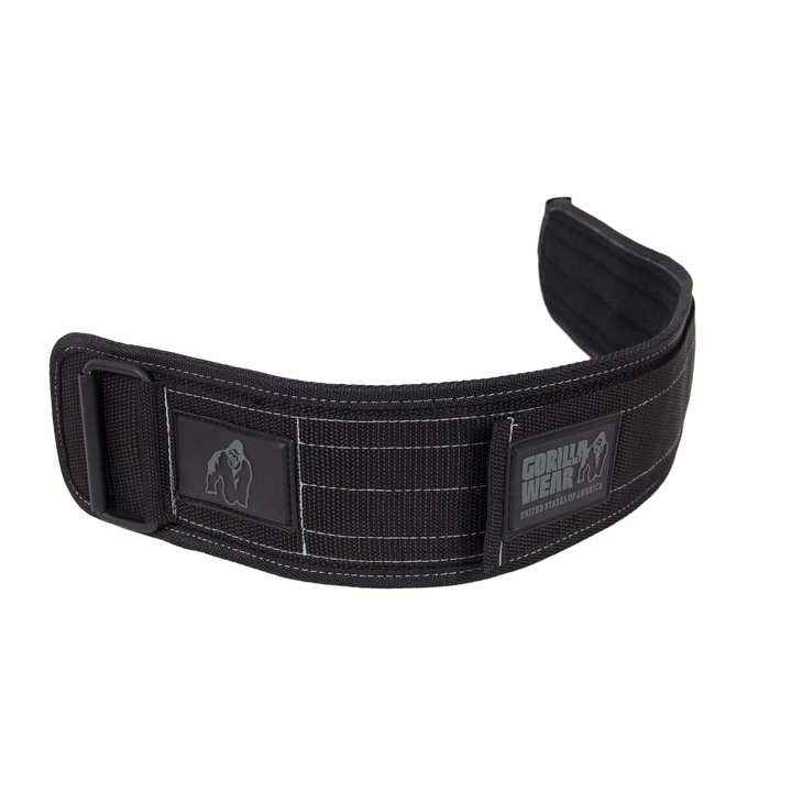 Gorilla Wear - 4 Inch Nylon Belt, black