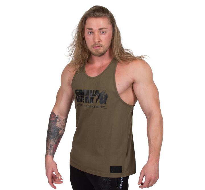 Gorilla Wear - Classic Tank Top, army green