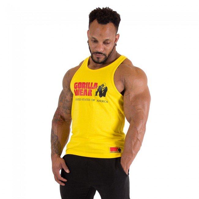 Gorilla Wear - Classic Tank Top, yellow