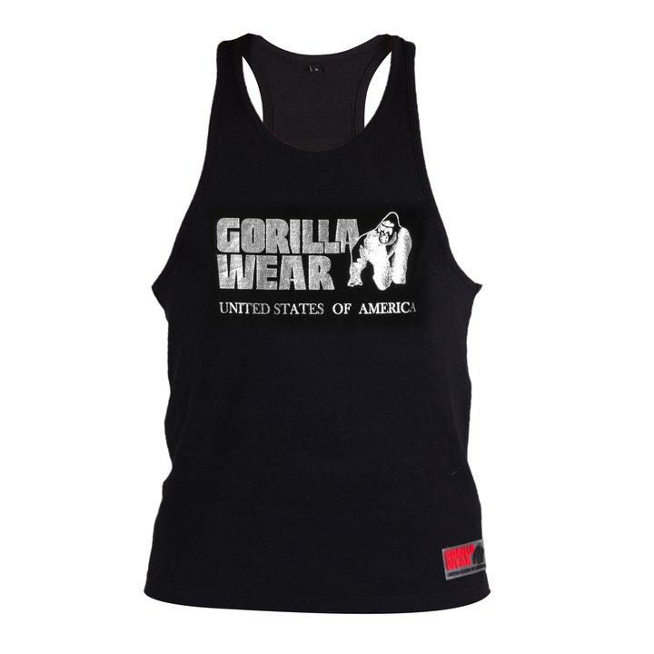 Gorilla Wear - Classic Tank Top, black/silver