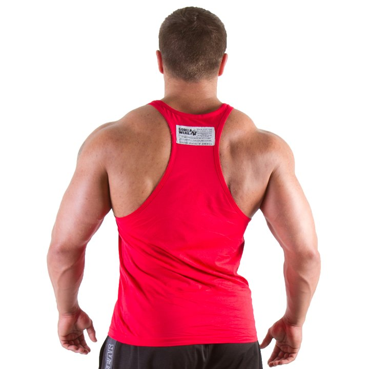 Gorilla Wear - Classic Tank Top, Red