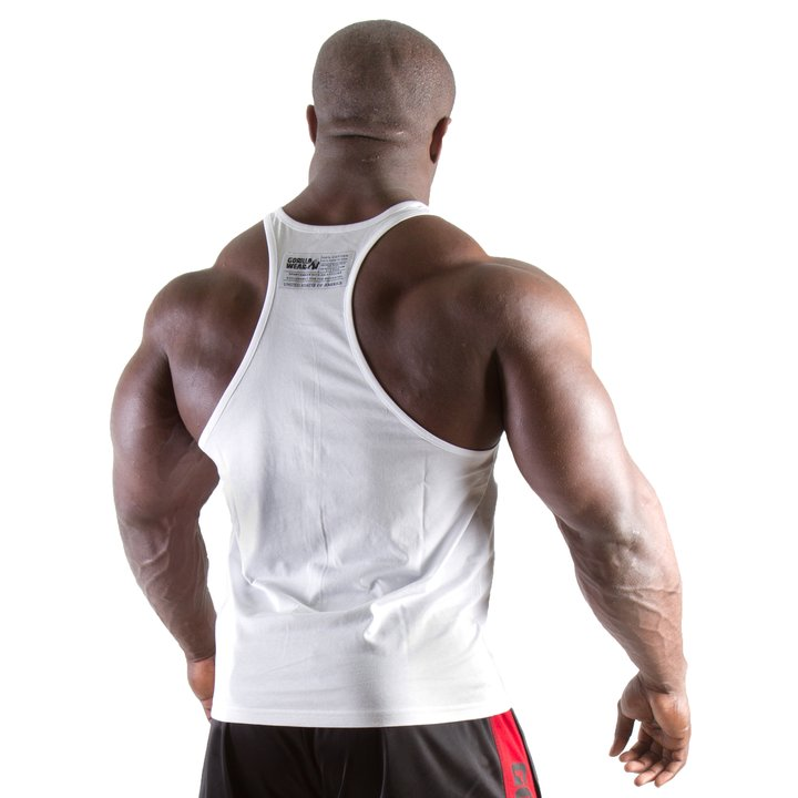 Gorilla Wear - Classic Tank Top, White