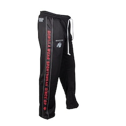 Functional Mesh Pants, black/red