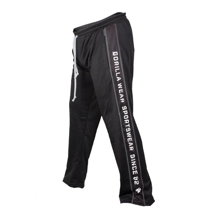 Functional Mesh Pants, black/white