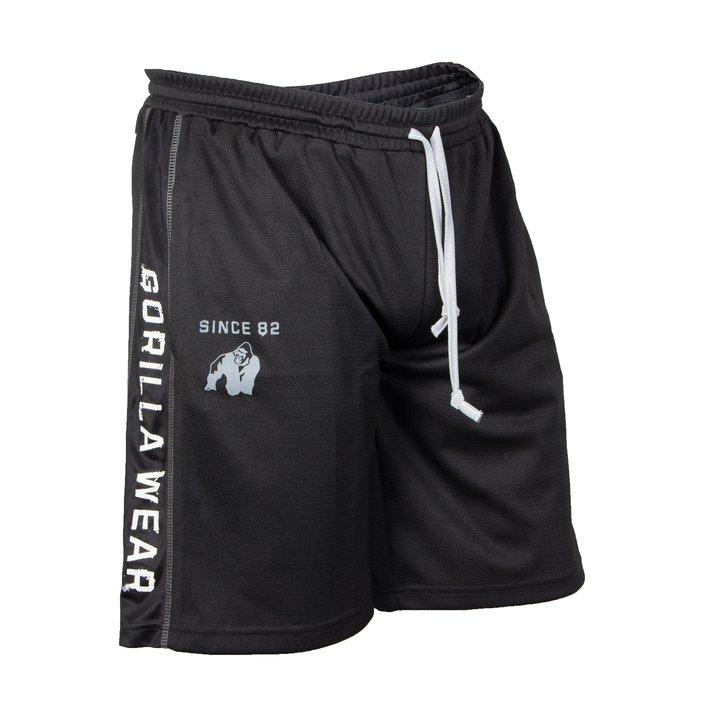 Functional Mesh Shorts, black/white