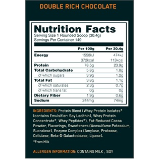 Optimum Nutrition - Whey Gold Standard 4,54kg