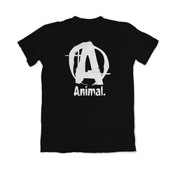 ANIMAL Basic Logo T-Shirt - black