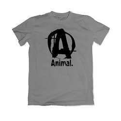 ANIMAL Basic Logo T-Shirt - Grey
