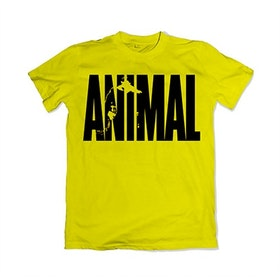 ANIMAL Iconic T-Shirt - yellow