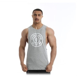 Golds Gym - Drop Armhole Tank - Grey Marl
