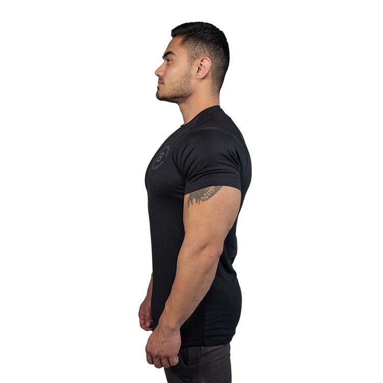 Better Bodies - Gym Tapered Tee, black