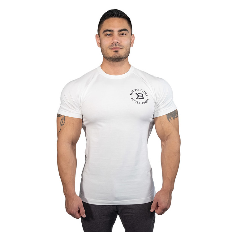 Better Bodies - Gym Tapered Tee, white