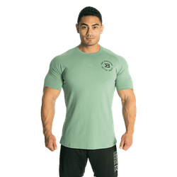 Better Bodies - Gym Tapered Tee, Teal Green