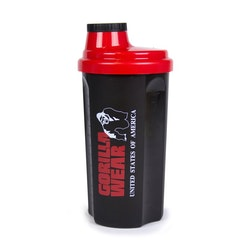 Gorilla Wear Shaker, black/red