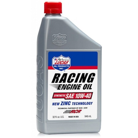 Lucas Racing Only Semi-Synthetic 10W-40 Racing motorolja