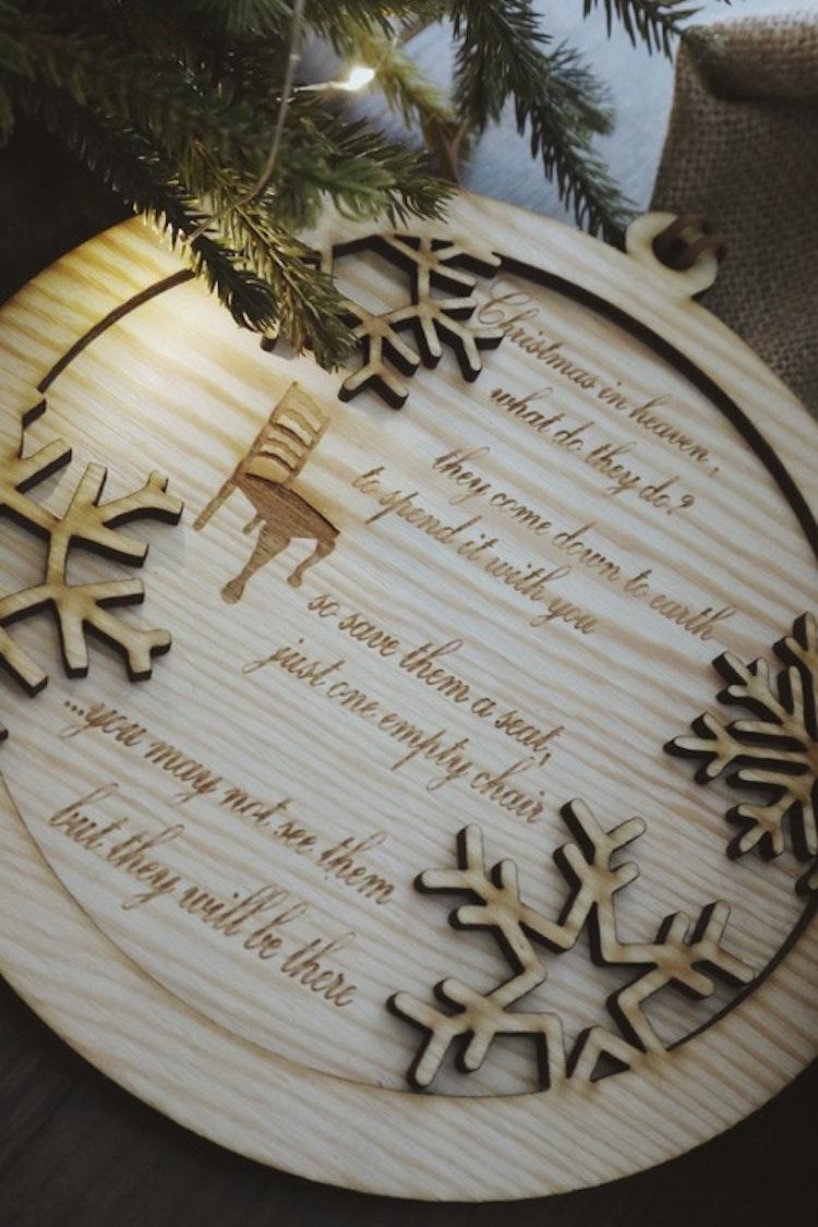 "Tavla - ""Christmas in heaven..."""