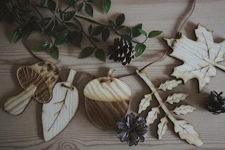Vimpel - guldkorn från hösten