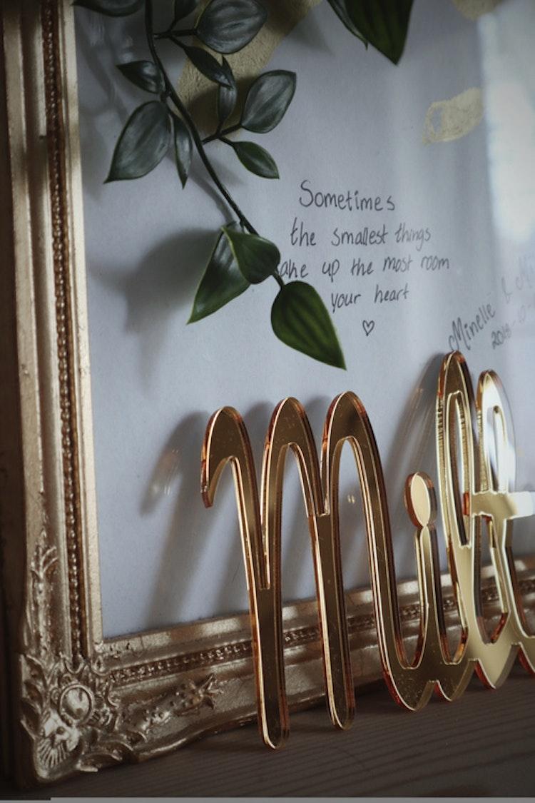 Namnskylt - Spegel