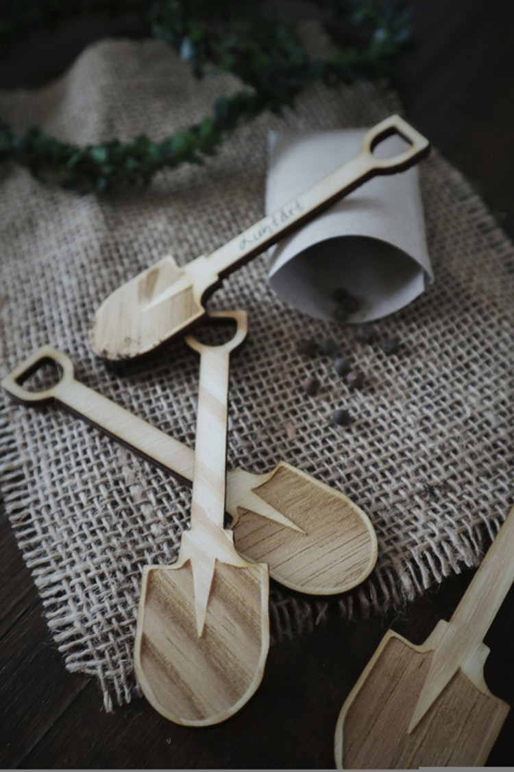 Fröpinnar - spade